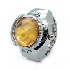 Women Fashion Ring Watch,Ring Yellow