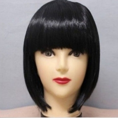 Synthetic Wigs Hair Wigs Women's  Short  Wigs Fashion Wigs Black only one size