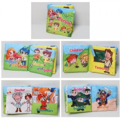 Infant Early Education English Book personage 12*12*4