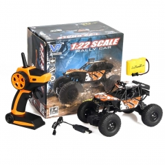 Wireless Remote Control Cross Country Toy Car, Remote Control Off-road Vehicle,Remote Control Car Orange 19*12*13