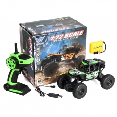 Wireless Remote Control Cross Country Toy Car, Remote Control Off-road Vehicle,Remote Control Car Green 19*12*13