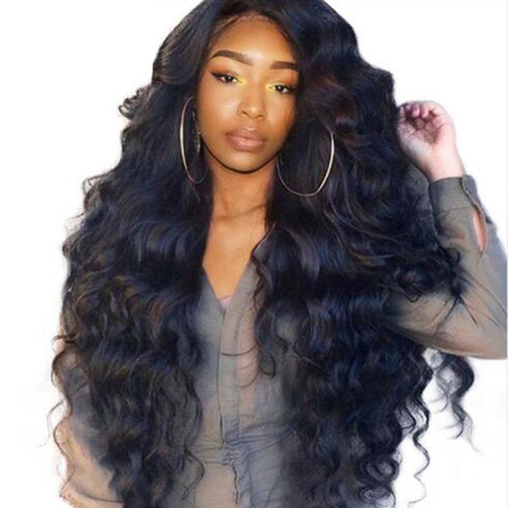 2018 New Fashion Synthetic Wigs Hair Wigs Women's Wigs Hair Wave 26inch black 26inc black 26inch