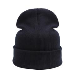 Outdoor Sports Winter Hats For Men Running Caps Skullies Beanies Women Warm Elasticity Knit Cap Black