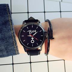2019 New Retro Fashion Unique Personality Couple Lover Watch Black White black Dial Diameter:3.5cm
