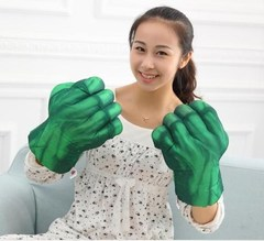 Hulk Dresses Up As Gloves Party Toy Gloves The Hulk Cosplay Toys Random left and right 11*7.5*6.3in(28*19*16cm)