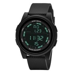 Fashion New Teen Electronic Watch Waterproof Alarm Night Light Outdoor Sports Watch A one size