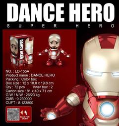 Iron Man Avenger Alliance Iron Man Model Hand-held Toys Electric Toys Children Gift Tony Stark Red 19*12*11CM