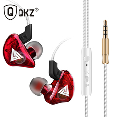 Earphone Sport Earbuds Stereo For Apple  Infinix Samsung Music Cell Phone Running Headset DJ CK5 red