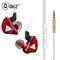 Earphone Sport Earbuds Stereo For Apple  Infinix Samsung Music Cell Phone Running Headset DJ CK5 red