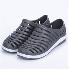 Fashion Couple Garden Sandals  Beaches Slippers Sandal Breathable Water Shoes Beach Sandals Leisure grey 40