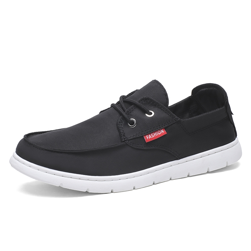 0e9053fbb7e new brand canvas casual men shoes british loafers flats jogging driving shoes  men s flat shoes black 39  Product No  1995499. Item specifics  Brand