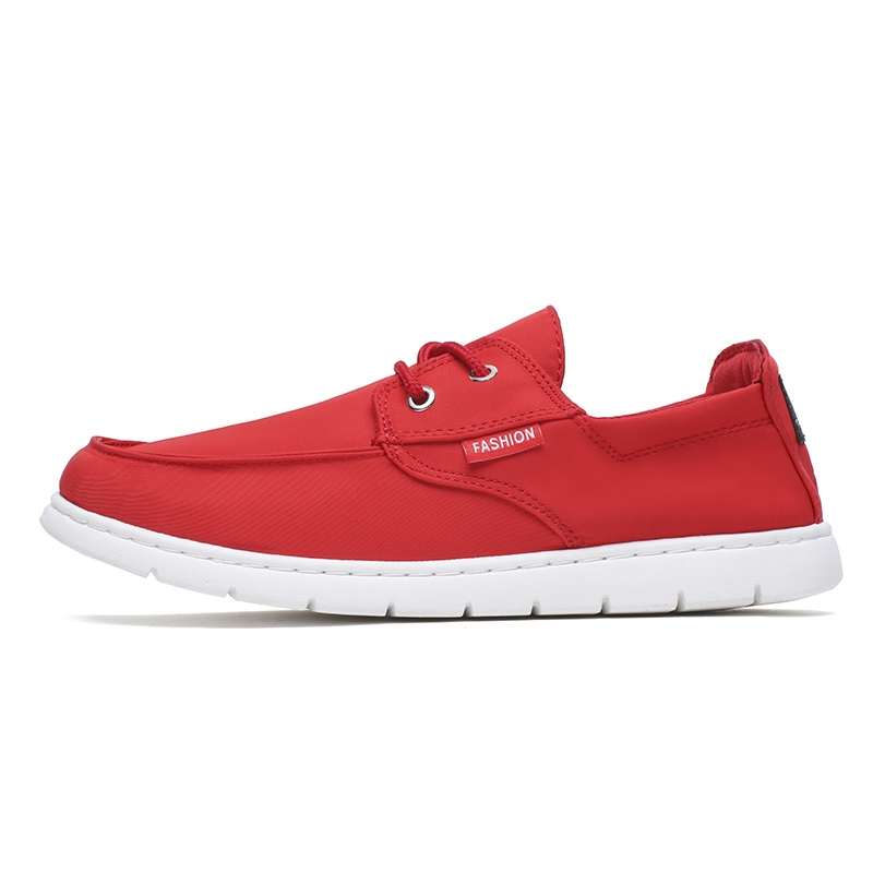 7a03be46398 new brand canvas casual men shoes british loafers flats jogging driving shoes  men s flat shoes red 40  Product No  1995506. Item specifics  Brand