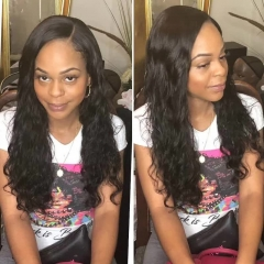 8A 20 Natural Wave Hair by Strive K&Q black 8 inch 2 bundles