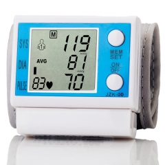 Digital Wrist Band Blood Pressure Monitor Auto Electronic Sphygmomanometer Home Health Care Device as picture