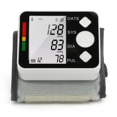 Wrist Blood Pressure Monitor LCD Digital Meter Cuff Measurement Health Blood Heart Care as picture