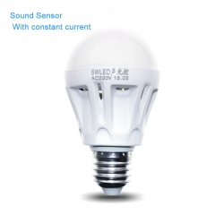 LED Night Light Sound control Sound sensor LED Lamp for household Hotel School Public place Upgrade one size 9W