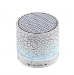 Superb Sound Large 45mm Driver Mini Music Bluetooth Speaker with USB Cable White 3W BS1
