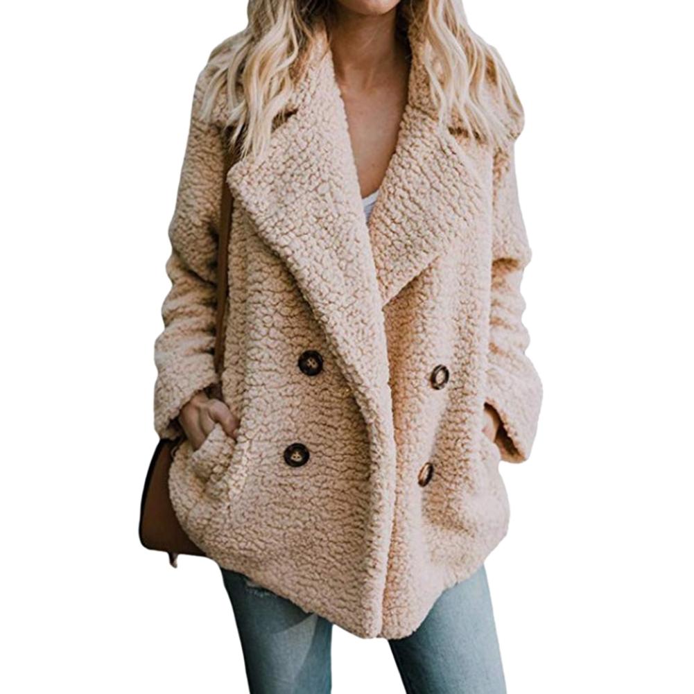ac94c2c69c8 Women's Jackets Winter Coat Women Cardigans Warm Jumper Fleece Faux Fur  Coat Hoodie Outwear Blouson