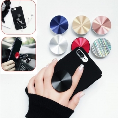 2 pcs New Multi-Function Holder Expanding Stand Grip Pop Socket Mount For Smartphones red 2 Pcs