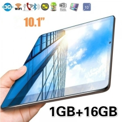 10.1 Inch Tablet PC Quad-core 1G/16G Wi-Fi 1280*800 IPS Screen GPS Bluetooth Dual Card Support Call gold 16G
