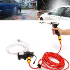 1pc 12V 65W High Pressure Electric Car Washer Water Pump Portable Spray Cleaner
