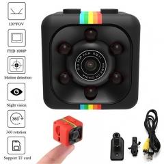 New Quelima SQ11 120 Degree FOV Night Vision Mini Camera 1080P HD DVR Camcorder Black SQ11