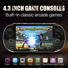 Video Game Console 4GB Free 2000 games 4.3 inch MP5 Players black 4.3inch