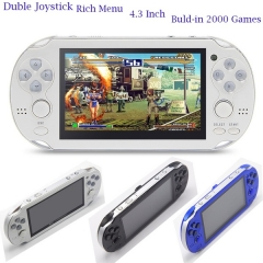 Video Game Console 4GB Free 2000 games 4.3 inch MP5 Players white 4.3inch