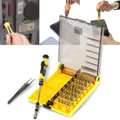 45-in-1 interchangeable Professional Hardware Screw Driver Precise Manual Tool Kit Home & Tools