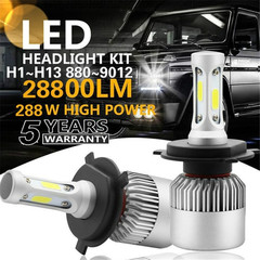 2PCS/SET Upgrated Super Bright LED Headlights  Auto Car Headlights Kit Driving Bulbs Lamps white 880/881 36w