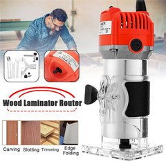 Electric Hand Trimmer Router Edge Wood Laminate Palm Router Joiners Tool Woodworking