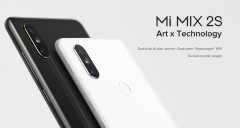 XIAOMI MI MIX 2S, 5.99 INCH FULL SCREEN DISPLAY 2160x1080, UP TO 8G+256G 6+64G WHITE