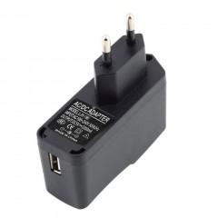 Black AC 100-240V 0.3A DC 5V 2A EU Plug USB Power Supply Adapter Charger