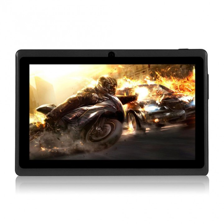 7 Inch TFT Display HD 1080P Quad Core Dual Camera 512M+8G Tablet for Android black