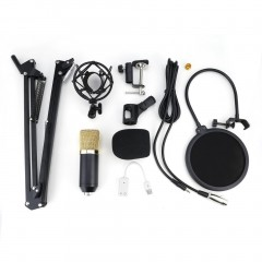 Studio Condenser Microphone Sound Recording Audio Wired For live Radio KTV