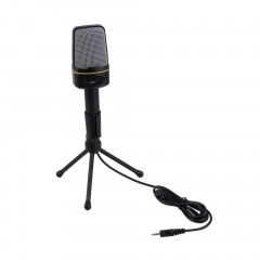 3.5mm Wired Studio Capacitive Plug and Play Microphone SF-920 For Computer