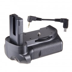 Travor BG-2G Vertical Battery Grip MB-D10 for Nikon D5300 D5200 D5100 Adapter
