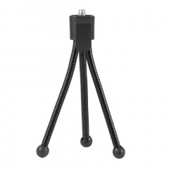 Universal Flexible Mini Portable Metal Tripod Stand for Digital Camera Webcam Black Length: Approx 11.5cm