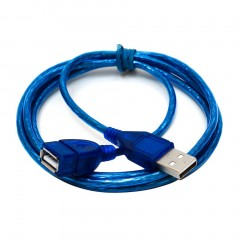 1M/1.5M/2M/3M USB 2.0 Male To Female Extension Data Transfer Sync Cable