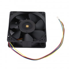 6000RPM DC12V 2.7A Miner Cooling Fan 4-Pin Cooler For Antminer Bitmain S7 S9