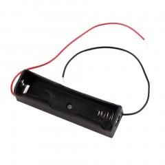 Portable Plastic Battery Case Holder Storage Boxes for 18650 Batteries 3.7V black 7.8*2.2*7