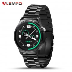 LEMFO GW01 Heart Rate Monitoring Bluetooth Wristwatch for iOS for Android