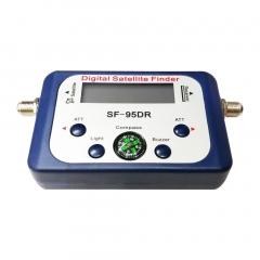 SF-95DR Digital Satellite Finder Meter TV Signal Receiver Sat Decoder Compass