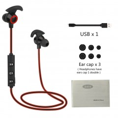 AX-02 Comfortable Wireless Bluetooth V4.1 Running Noise Reduction Earphone