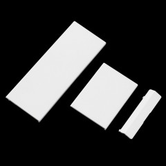 3 pcs White Door Slot Cover Bezel Lid Part for Nintendo Wii Console System