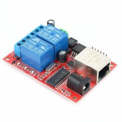 LAN Ethernet Relay Board Delay Switch TCP/UDP Controller Module WEB Server