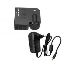 UC28B Mini Portable LED Projector 1080P Multimedia Family Cinema Home Theater