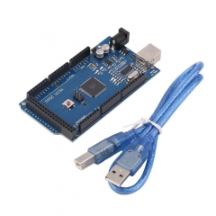 Mega 2560 R3 REV3 ATmega2560-16AU Board USB Cable Compatible For Arduino
