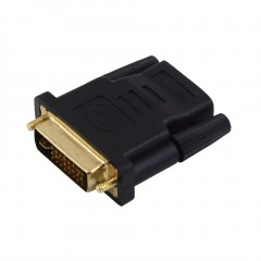 DVI-I Male to HDMI Adapter Golden-Plated Converter Support For HDTV 1080P LCD