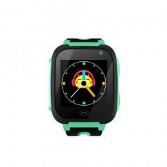 V6 Smart Watch Camera Anti Lost Monitor SOS Waterproof Kids Watch green 87*87mm